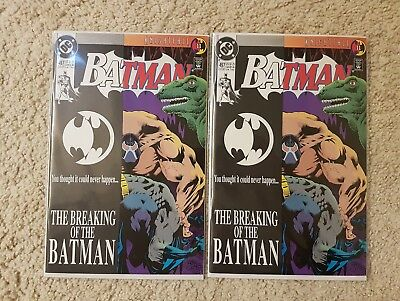 DC Batman 497 2 COPIES NM