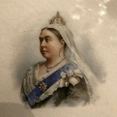 Queen Victoria Royal Doulton Diamond Jubilee Plate