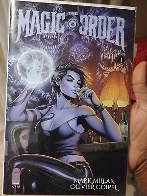 Magic Order #1 Tyler Kirkham Variant