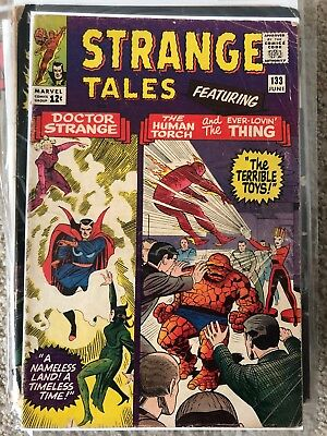 Strange Tales #133 - Low Grade - complete and great Dr. Strange story