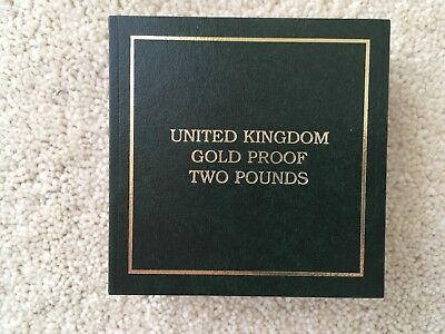 1997 UK Gold Proof 2 GB Pound coin