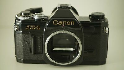 Canon AT-1 35mm Film Camera FD Mount AT1 - TESTED AND WORKING
