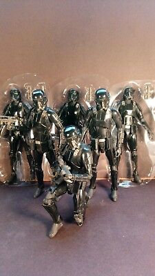 Star Wars Black Series 6 inch Death Trooper Lot of x6 Rogue One Action Figures