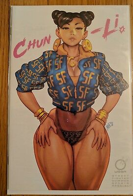 Street Fighter Summer Sports Special Chun-Li Nikki Minaj (In Hand!) NM+ Variant