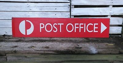 POST OFFICE Road Street Sign - Old Advertising Sydney Man Cave Shed