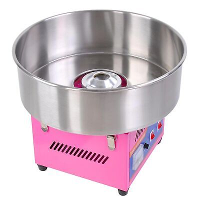 "20"" Commercial Electric Cotton Candy Machine Floss Maker Party Holiday Pink"