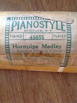 Horn pipe medley - Pianola roll