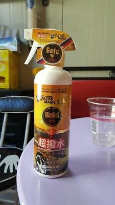 [Free shipping and The lowest price] Gloss Magic Gold Car Water Wax 500ml Japan