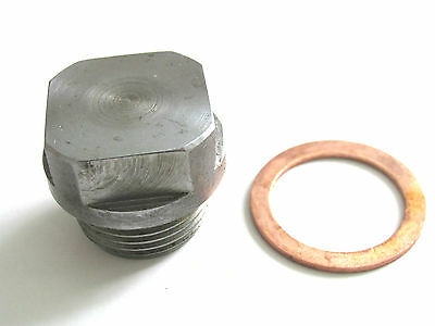 Ferguson Te20 Tractor Engine Sump Plug & Washer  New