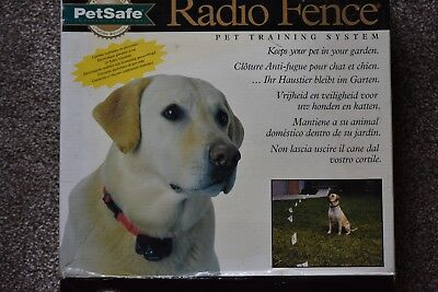 Petsafe Radio Fence Pet Containment System and Two Collars