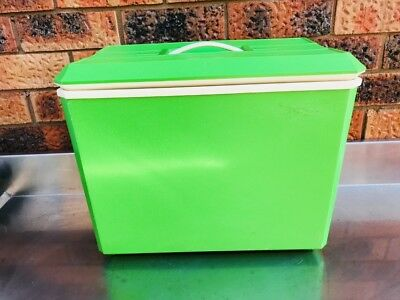 Vintage Retro Lime Green Cooler
