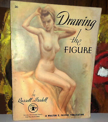 DRAWING THE FIGURE  by Russel Tredell  rivista d'epoca