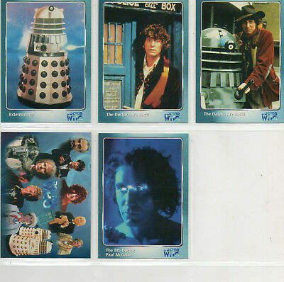 Dr Doctor Who Definitive Series 1 -  Lot of 5 Different Promo Cards SI-1 CI-1