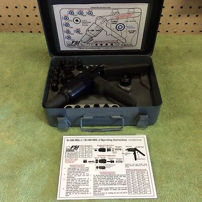 Fsi D-100-Mil-1 Kit W D-180 Riveter Aircraft Tools
