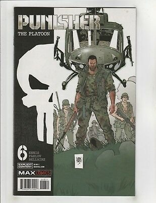 Punisher The Platoon #6 NM- 9.2 Marvel Comics Vietnam,Frank Castle;Garth Ennis