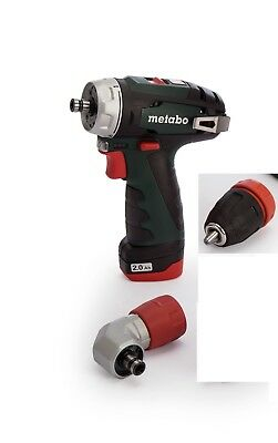 Metabo Powermaxx Bs Quick Pro 10.8V Cordless Drill Driver Inc 1X 2.0Ah + Case