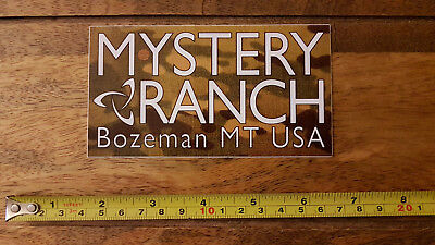 BN Imported Mystery Ranch multicam dealer promo sticker SF Devgru Police Mil Sea