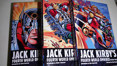 Jack Kirby Fourth World Omnibus Vol 1 2 3 HC Hardcover | DC Comics New Gods NEW