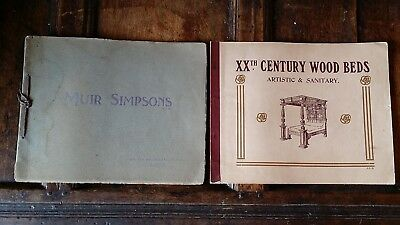 1920 Antique Original Catalogues Muir Simpsons Ltd Glasgow - Furniture Beds Etc