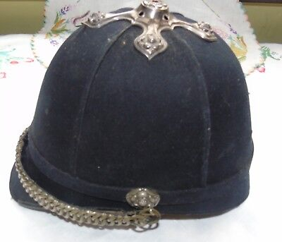 19th  century military volonters  pith  helmet in need of restoration