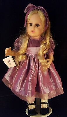 "Paradise Galleries 17-1/2"" Articulated Vinyl Doll with Blonde Hair / Brown Eyes"
