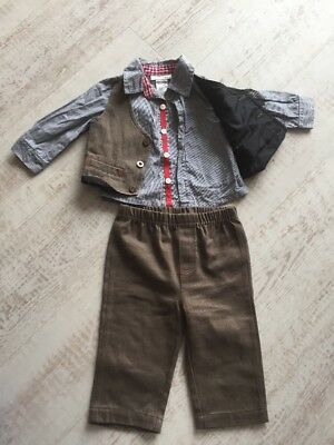 Boys smart outfit 6 months suit special occasion christening birthday