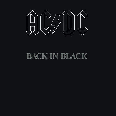 ACDC AC/DC - Back in Black CD Original Recording Remastered