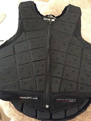 Racesafe body protector small flat level 3