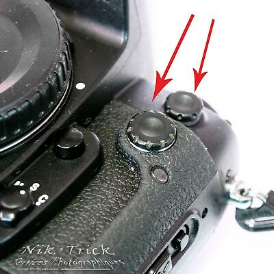 Nikon Sync Cover & Remote Caps ~ F5, F6, D800, D850, D3, D810 and so on