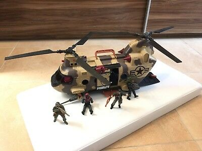 True Heroes Military Freedom Force Helicopter