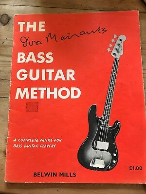 Ivor Mairants Bass Guitar Method Complete Guide For Beginners