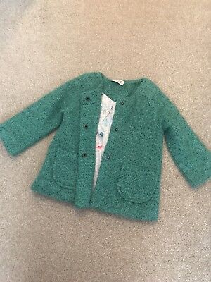 Next Girls Coat Jacket 1.5-2 Years Autumn 18 Age 2