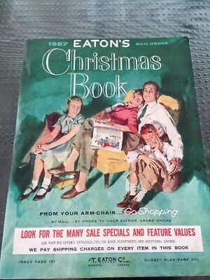 1957 Eaton's Christmas Catalog (Like New!)
