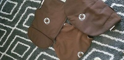 Bugaboo cameleon fabric set,3 pc , Brown