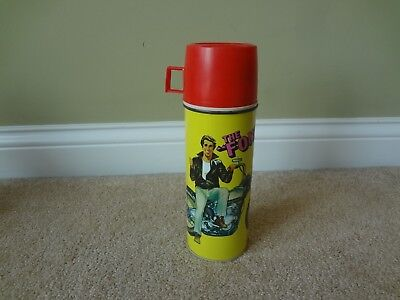 1976 King Seeley Happy Days The Fonz Large Thermos // Very Clean // Ex++