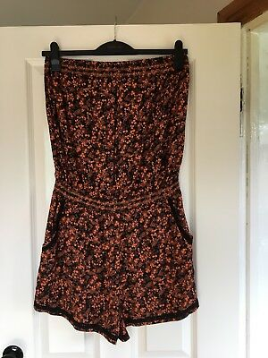 Ladies boobtube Playsuit from Next  beach wear size 14