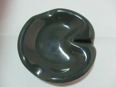 Russel Wright Dark Green Ashtray by Sterling China