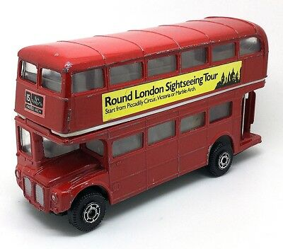 WELLY London Transport Routemaster Doubledecker Bus 80er Jahre 1/43