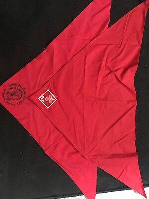 Lot Of 2 Boy Scouts Of America Handkerchief Bandana Red Camporee