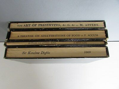4 OLD COOKBOOKS Mallinckrodt Food Classics1966  Adulterations CULINARY POISONS