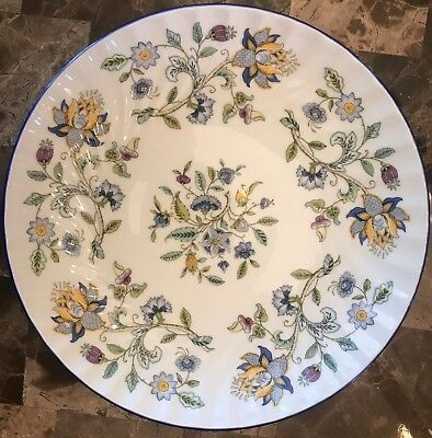 Perfect condition Haddon Hall Blue S782 by Minton China Salad Plate, 8""