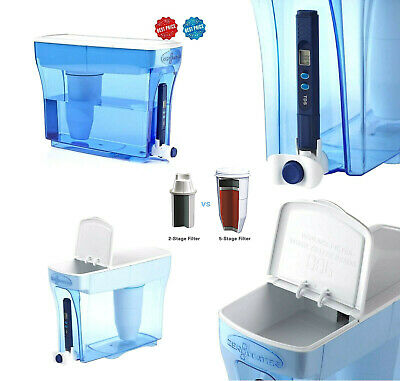 ZEROWATER 23 CUP Dispenser With Free TDS Meter-ZD-018 Filter