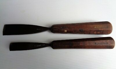 S.J.Addis,London,vintage woodcarving chisels
