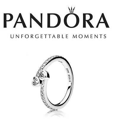 Pandora Silver Forever Hearts Ring
