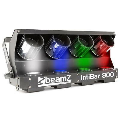 beamZ IntiBar 800 4 Head Barrel 4x 10W leds DMX