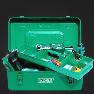 Thicken Hardware Tool Box Large Capacity Iron Toolkit Tools Storage Case
