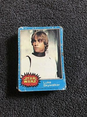 Star Wars Card Lot.  1977, Topps. Poor Condition