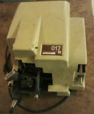 Ilco 017 Automatic key Duplicator Machine with reversible jaws - good condition
