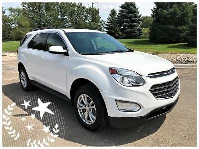Equinox LT 2017 Chevrolet Equinox Summit White LT Rearcm FWD ONLY 15K Miles No Reserve
