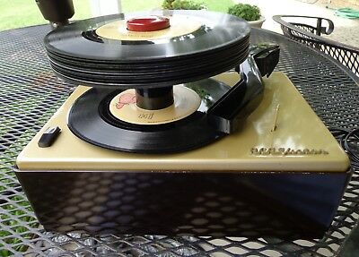 Stereo Rca 45-J-2 45 Rpm Record Player / Changer Nice Vintage  Fully Restored